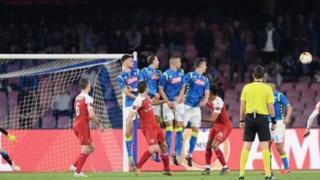 Arsenal imeiondosha Napoli kwa jumla ya mabao 3-0