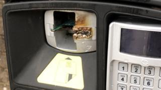 Brechin parking meter
