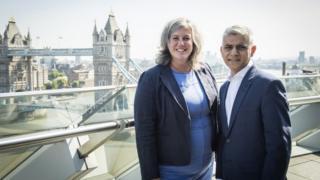 Heidi Alexander and Sadiq Khan