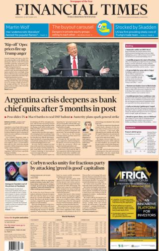 Financial Times: 26 Sept