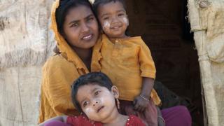 ကူတူပါလောင် ဒုက္ခသည်စခန်းက ရိုဟင်ဂျာ မိသားစုတစ်စု