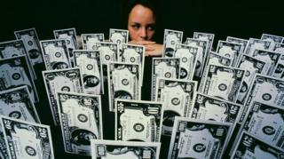 Dollar baknotes