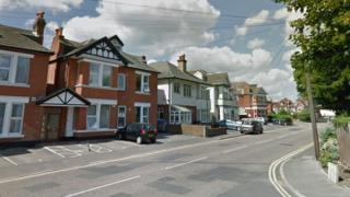 Southbourne Road accident location