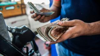 أسعار الوقود في مصر
