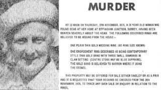 Kathleen Maud Cock and a police murder notice