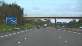 Motorway near Lockerbie