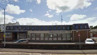 Stranraer police station