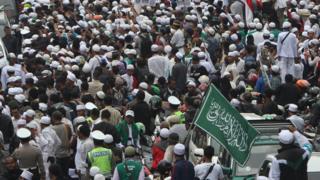 Demonstrasi di Jakarta