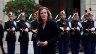 French politician Nathalie Kosciusko-Morizet, member of the Republicans political party, arrives to attend the handover ceremony between French President-elect Emmanuel Macron and outgoing President Francois Hollande at the Elysee Palace in Paris, France, 14 May 2017