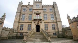 Замок Болсовер в Дербишире