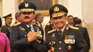 Nota kesepahaman ditandatangani Panglima TNI Marsekal Hadi Tjahjanto dan Kapolri Jenderal Tito Karnavian