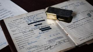 Mr Bond's clicker with army book