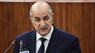 Abdelmadjid Tebboune, le président algérien