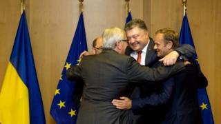 Порошенко та ЄС