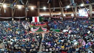Viongozi nchini kenya katika uzinduzi wa ripoti ya kamati ya BBI kenya