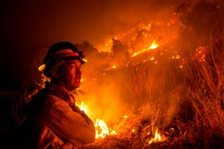 Global warming driving California wildfire trends - study