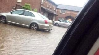 Flooding in Derry