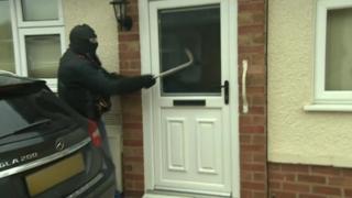 Drugs raids
