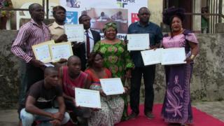 Abbassa Mireille oda prisoners receive prize for essay competition