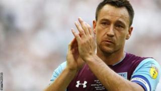 Terry ameondoka Aston Villa baada ya kudumu kwa msimu mmoja