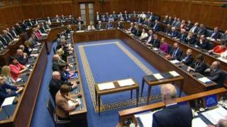 The new assembly gathered in the chamber on Thursday morning