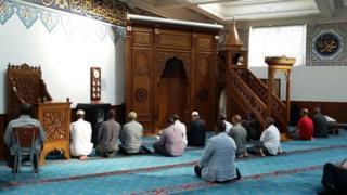 Mevlana Rumi mosque in Edmonton, north London