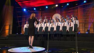 Strathearn choir senior choir