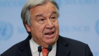 اقوامِ متحدہ کے سیکریٹری جنرل انتونیو گرتیرس