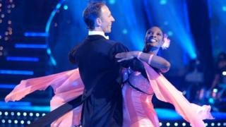Ian Waite and Denise Lewis