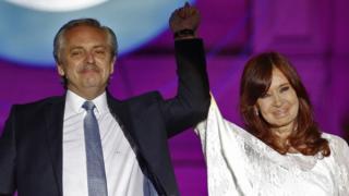Cristina y Alberto Fernández