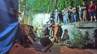 မလေးရှား၊ မြန်မာ၊ အလုပ်သမား၊ မြေပြိုမှု