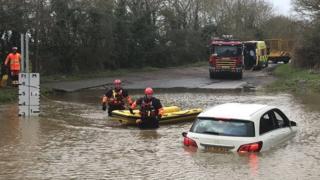 Watery Gate Lane rescue