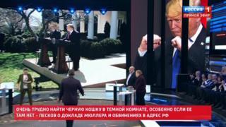 Screengrab from Rossiya 1's 60 Minutes talk show
