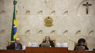 Ministra Cármen Lúcia preside sessão plenária do STF em 15 de março de 2018