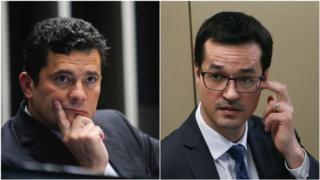 Sérgio Moro e Deltan Dallagnol