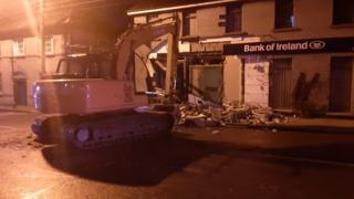 Northern Ireland Cash machine theft