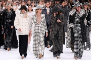 Cara Delevingne and emotional models on the catwalk