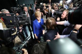 in_pictures SNP leader Nicola Sturgeon