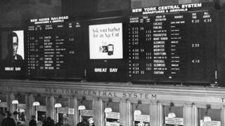 New York Central Station in 1966