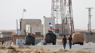 مدرعات روسية شمال سوريا