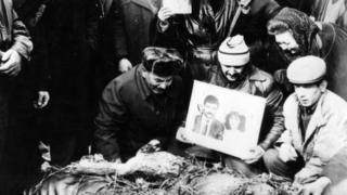 Похороны погибших 20 января