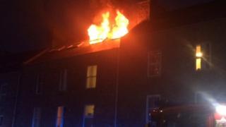 Richmond Walk fire