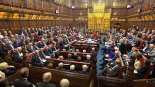英国上议院3月31日对脱欧法案投票表决