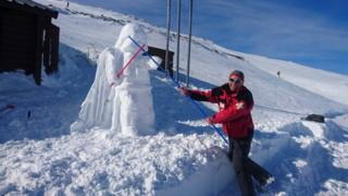 Vader snowman