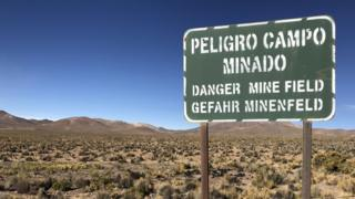 Campo minado Chile