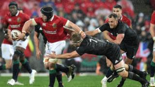 Lions vs All Blacks