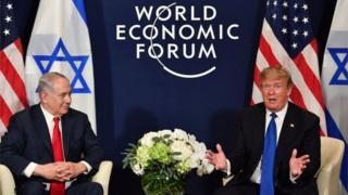 Trump Iiyo Netanyahu
