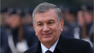 Shavkat Mirziyoyev president of Uzbekistan