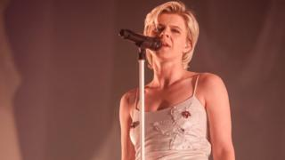 Robyn performing at Primavera festival in Barcelona