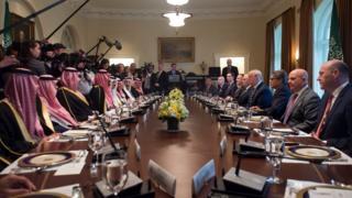 مباجثات أمريكية سعودية